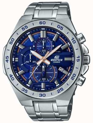 Casio | Edifice Chronograph | Stainless Steel Bracelet | Blue Dial EFR-564D-2AVUEF