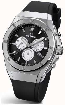 TW Steel | CEO Tech | Limited Edition | Chronograph | Black Rubber | CE4041