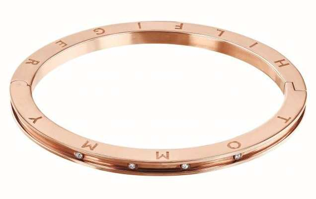 Tommy Hilfiger Dressed Up | Crystal Set | Rose Gold Bangle | 2780204