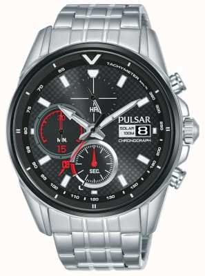 Pulsar | Accelerator Chronograph | Stainless Steel | Black Dial | PZ6027X1