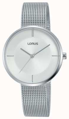Lorus | Womens Stainless Steel Mesh Bracelet | Silver Dial | RG257QX9