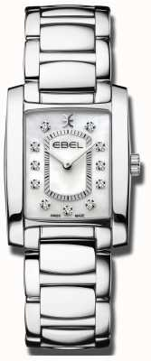EBEL Womens Brasilla | Mother Of Pearl Dial | Stainless Steel 1216462