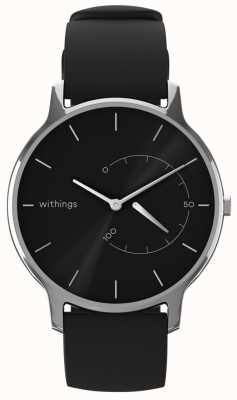 Withings Move Timeless Chic - Black, Black Silicone HWA06M-TIMELESS CHIC-MODEL 1-RET-INT