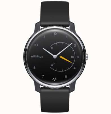 Withings Move ECG | Black & Yellow | Activity Tracker HWA08-MODEL 1-ALL-INT
