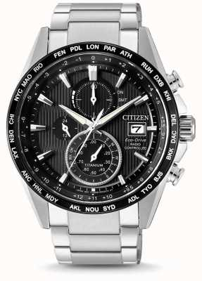 Citizen | Mens Eco-Drive Radio Wave H800 | Titanium Bracelet | AT8154-82E