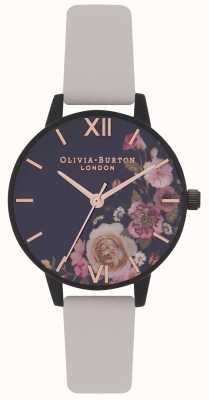 Olivia Burton | Women's | After Dark Floral | Vegan Nude Strap | OB16AD30