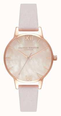 Olivia Burton | Womens | Semi Precious | Blossom Leather Strap | OB16SP02