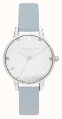 Olivia Burton | Womens | The Wishing Watch | Vegan Chalk Blue Strap | OB16SG07