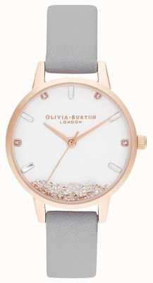 Olivia Burton | Womens | The Wishing Watch | Grey Strap | OB16SG08