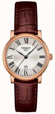 Tissot | Carson Premium Lady | Brown Leather Strap | T1222103603300