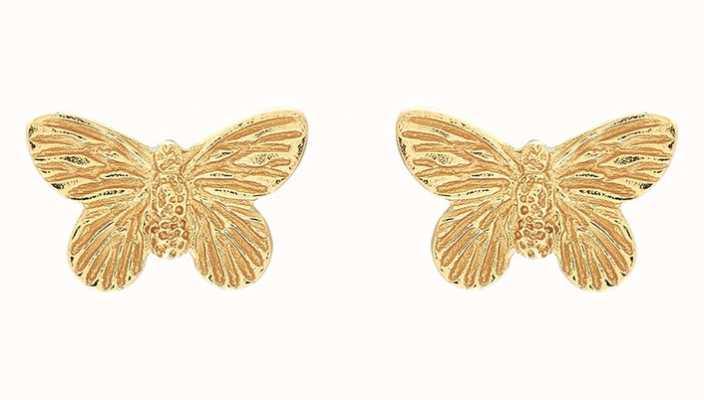 Olivia Burton | 3D Butterfly | Gold | Stud Earrings | OBJ16MBE01