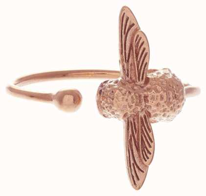 Olivia Burton | 3D Bee | Rose Gold | Ring | OBJ16AMR02