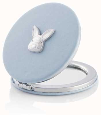Olivia Burton | 3D Bunny | Chalk Blue And Silver | Compact Mirror | OBACS55