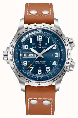 Hamilton | Mens | Khaki Aviation | X-Wind | Automatic | Day Date | H77765541