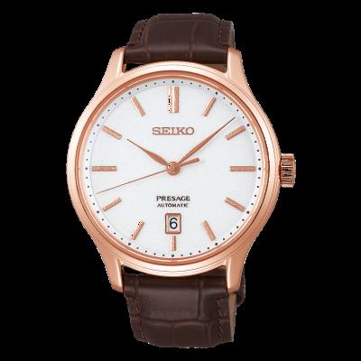 Seiko | Presage | Automatic | Zen Garden | Brown Leather | SRPD42J1