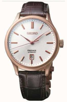 Seiko | Presage | Automatic | Zen Garden | Brown Leather | SRPD42J1