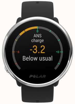 Polar | Ignite | Activity and HR Tracker | Black Rubber | S | 90071065