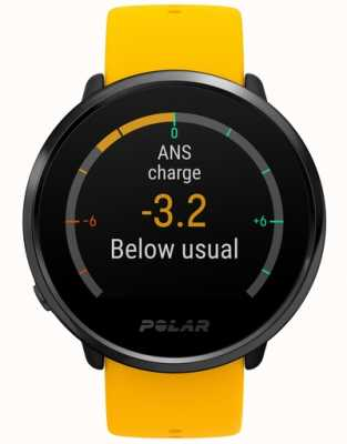 Polar | Ignite | Activity and HR Tracker | Yellow Silicone | M/L | 90075950