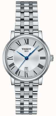 Tissot | Womens Carson | Stainless Steel Bracelet | Silver Dial | T1222101103300