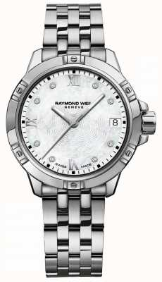 Raymond Weil | Womens Tango | Diamond Set Dial | Stainless Steel Bracelet 5960-ST-00995