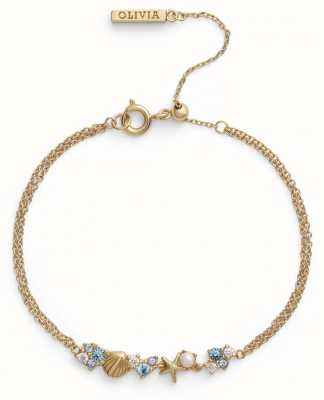 Olivia Burton | Under The Sea | Gold | Chain Bracelet | OBJSCB02