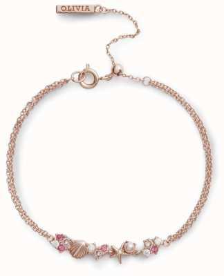 Olivia Burton | Under The Sea | Rose Gold | Chain Bracelet | OBJSCB03
