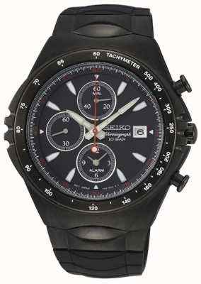 Seiko | Conceptual Series | Black IP Chronograph | Sport Watch | SNAF87P1