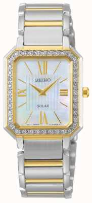 Seiko | Conceptual Series | Classic | Solar | Two Tone Bracelet  | SUP428P1