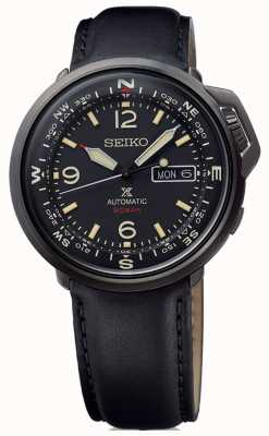 Seiko | Prospex | Mens | Automatic | Black Leather | SRPD35K1