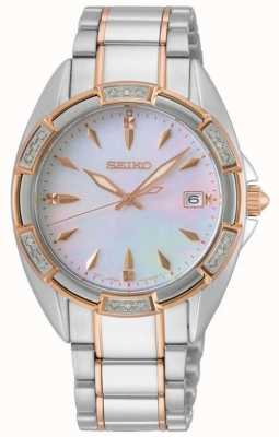 Seiko | Conceptual Series | Womens | Two Tone Rose Gold Bracelet | SKK878P1