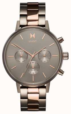 MVMT   Nova Orion   Two Tone PVD Stainless Steel   Grey Dial   D-FC01-TIRG