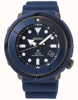 Seiko   Prospex   Street Series   Navy Blue Silicone   Diver's   SNE533P1