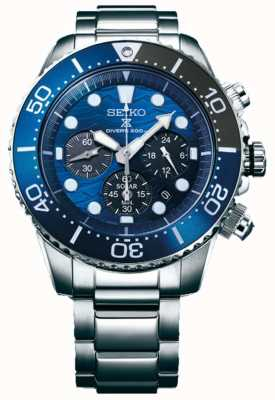 Seiko | Prospex Diver's | Save The Ocean | Blue Chronograph Dial | SSC741P1