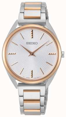 Seiko | Conceptual Series | Womans | Rose Gold Two Tone SWR034P1