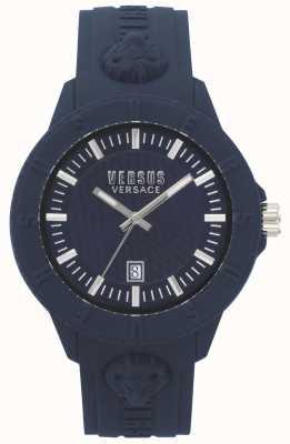Versus Versace | Womens | Tokyo R | Blue Silicone | VSPOY2118