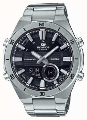 Casio   Edifice   Mens   Standard Chronograph   Black Dial   ERA-110D-1AVEF