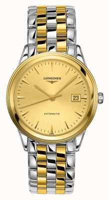 Longines | Flagship | Men's 38.5mm Two Tone | Swiss Automatic L49743327