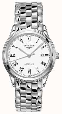 Longines | Flagship | Men's 38.5mm Stainless Steel | Swiss Automatic L49744116