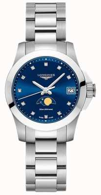 Longines | Conquest Sport | Women's | Moon Phase | Swiss Quartz | L33804976