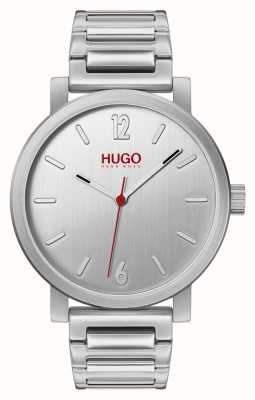 HUGO #Rase | Stainless Steel Bracelet | Silver Dial 1530117