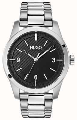 HUGO #CREATE | Stainless Steel Bracelet | Black Dial 1530016