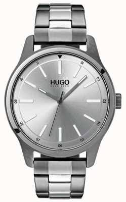 HUGO #dare | Stainless Steel Bracelet | Silver Dial 1530021