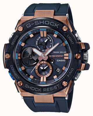 Casio | G-Shock | G-Steel | Bluetooth | Chronograph | Blue | GST-B100G-2AER