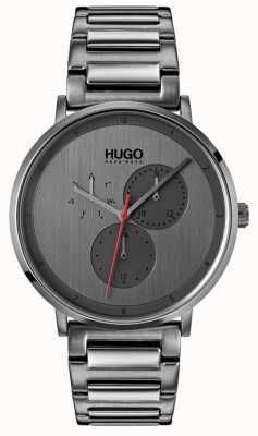 HUGO #guide | Grey IP Bracelet | Grey Dial 1530012