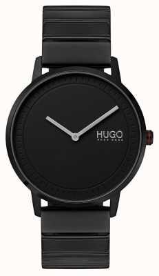 HUGO #echo | Black IP Bracelet | Black Dial 1520020