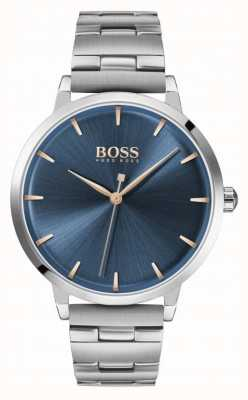 Boss | Women's Marina | Stainless Steel Bracelet | Blue Dial | 1502501