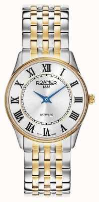 Roamer | Women's | Sonata | Two-Tone Bracelet | Silver Dial | 520820 47 15 50