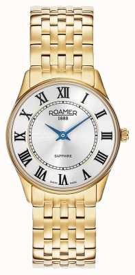 Roamer | Women's | Sonata | Gold Plated Steel | White Dial | 520820 48 15 50