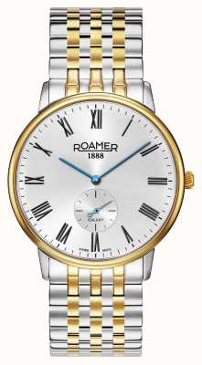 Roamer | Men's Galaxy | Two-Tone Stainless Steel | White Dial | 620710 47 15 50