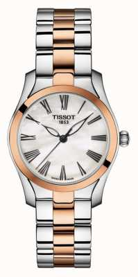 Tissot | T-Wave |Women's Two-Tone Bracelet | Mother Of Pearl Dial | T1122102211301